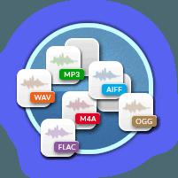 Exportación de funciones de Audacity