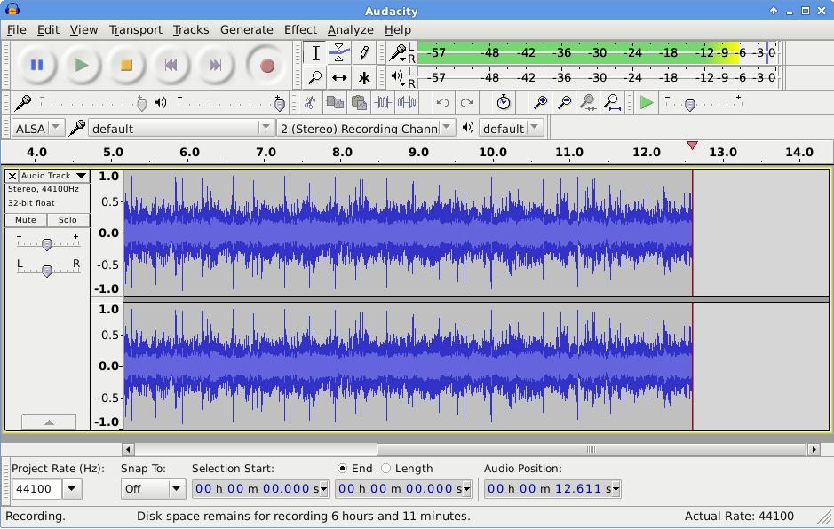 Как сделать трек в audacity 26