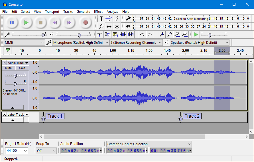 audio editor software for windows 10 free
