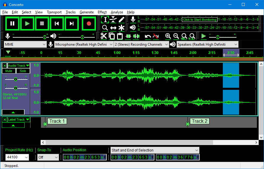 Audacity Free Open Source Cross Platform Audio Software For